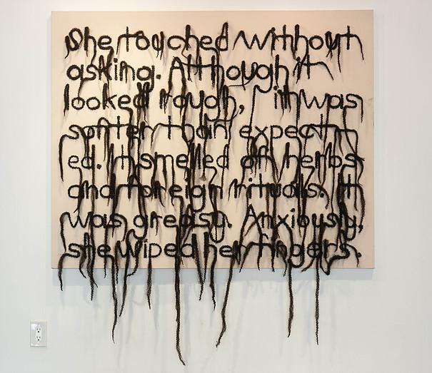 Lisa Diane Wedgeworth, Hair Text No. 1, 2014