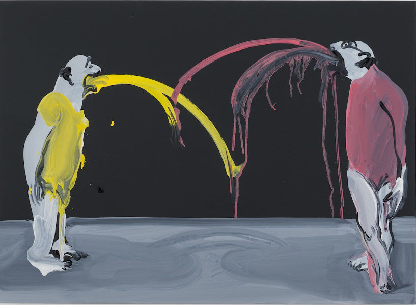 Tala Madani, Grey Shadows, 2014 (Image Pilar Corrias Gallery)