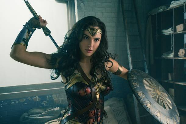 Gal Gadot as Wonder Woman in the new 2017 film. Photo: Warner Bros