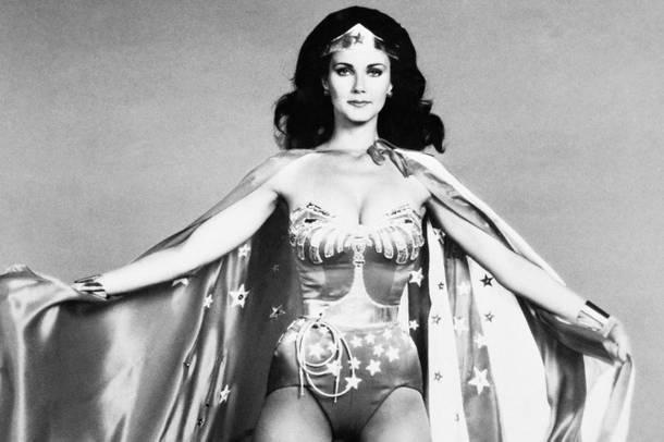 Lynda Carter as Wonder Woman. Photo: AP images