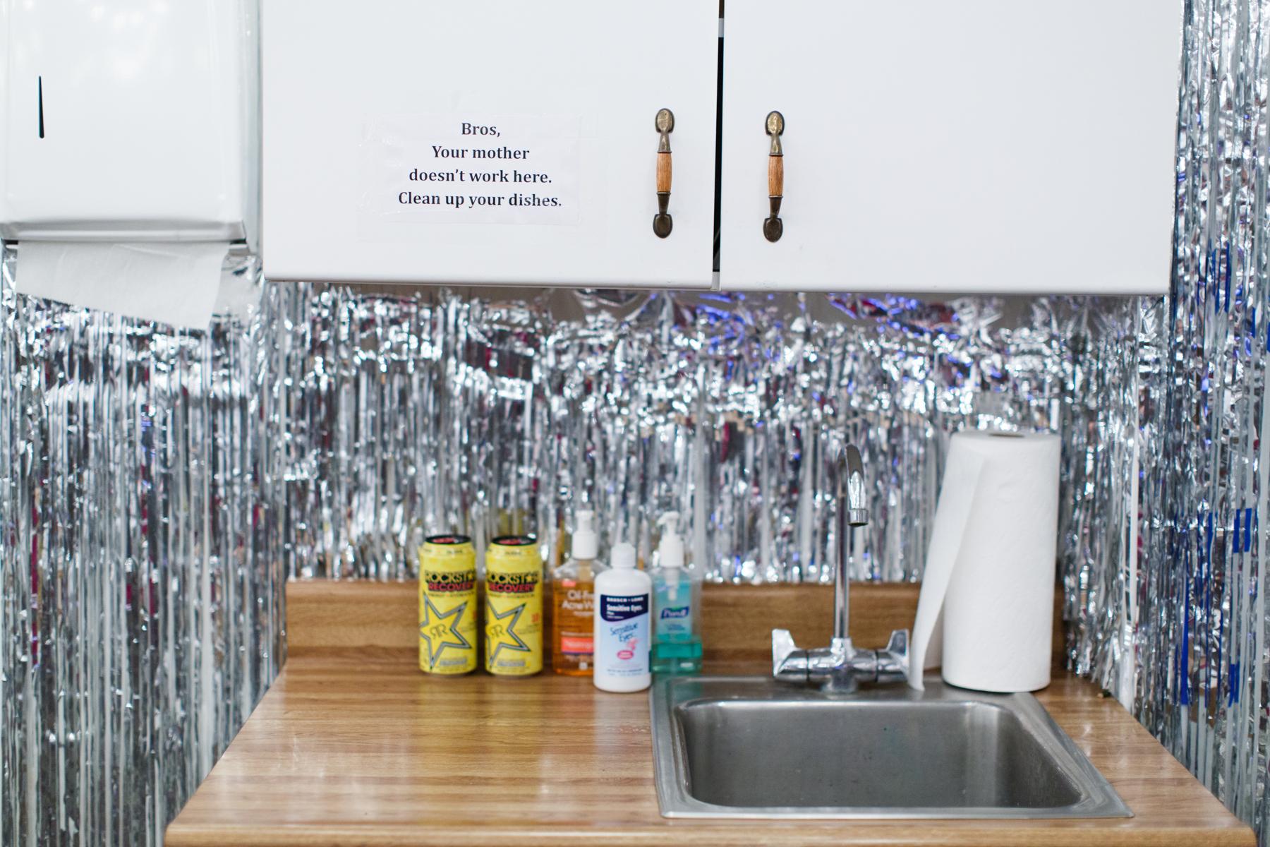 Jeffrey Augustine Songco, Installation view, Society of 23's Locker Dressing Room