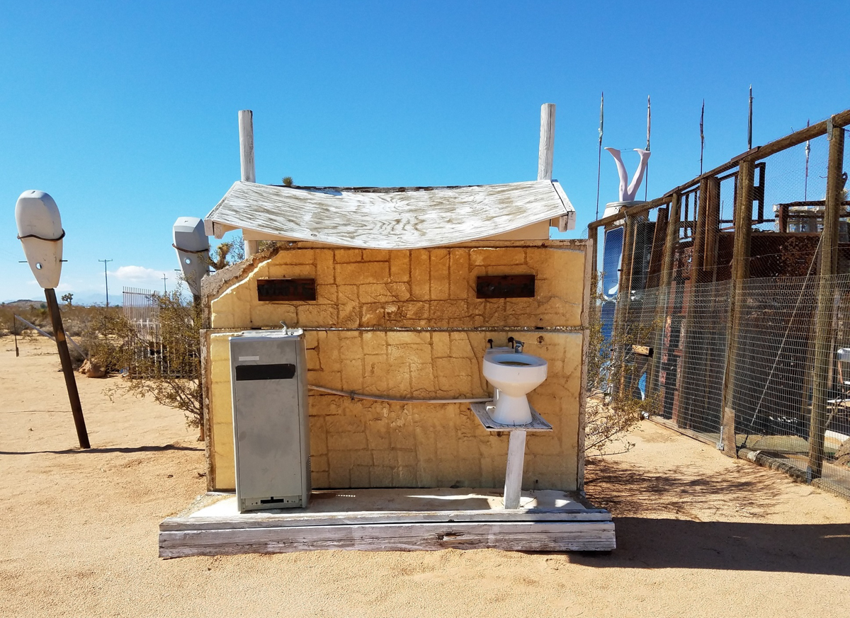 from the  Noah Purifoy Outdoor Desert Art Museum ,photo courtesy Andreana Donahue