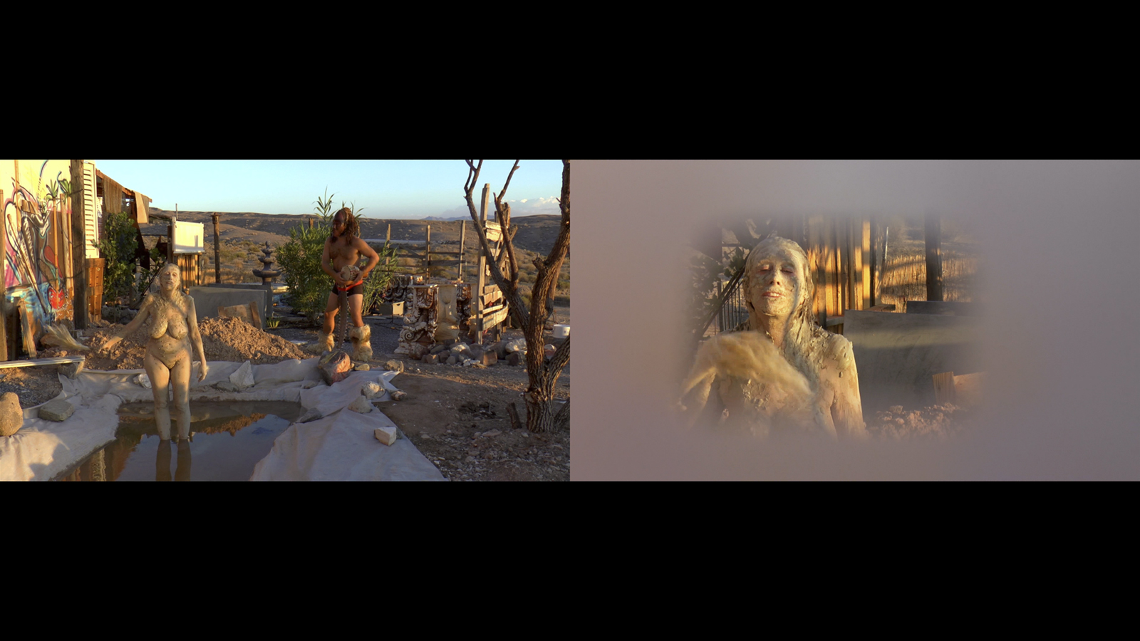 video Chavez | Warm Bodies | single-channel video diptych