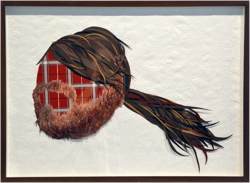 Kleven |Beard 81 | mixed media collage