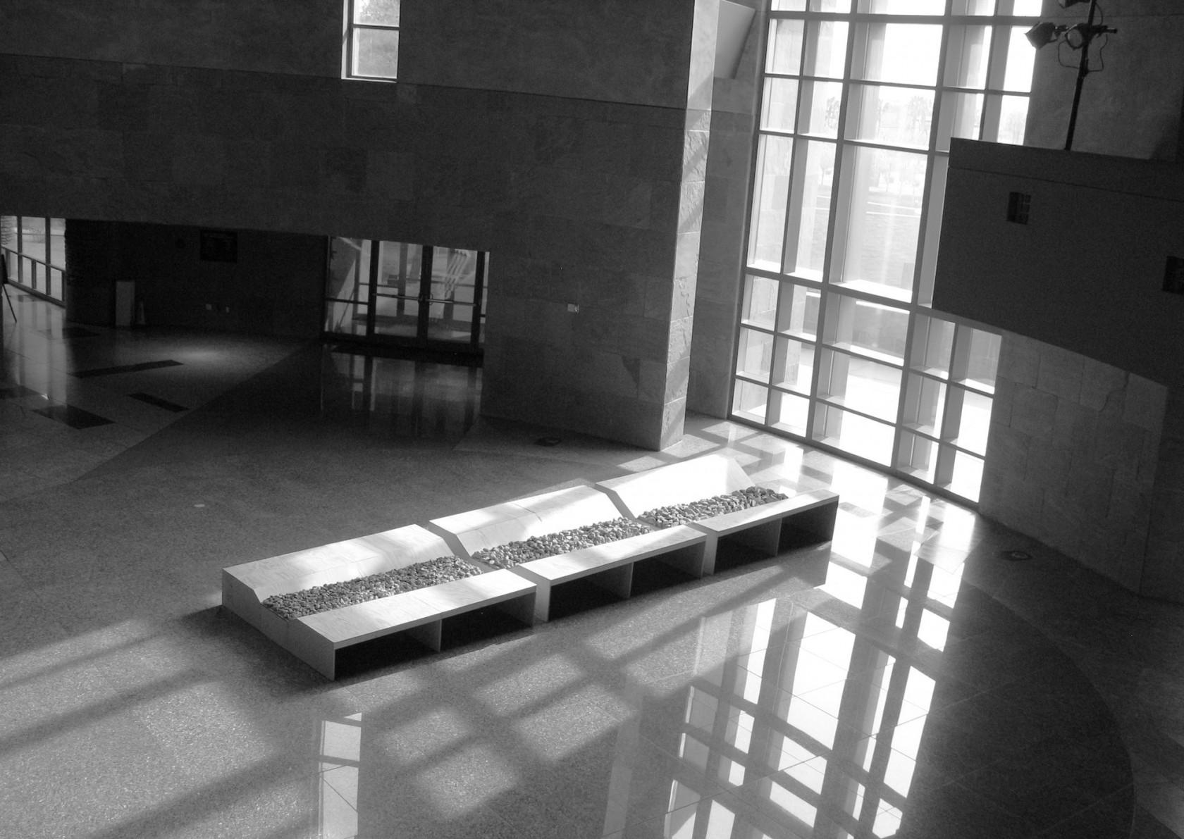 Daniel Habegger   Snake Valley disaster, installation view, Rotunda, Las Vegas 2010