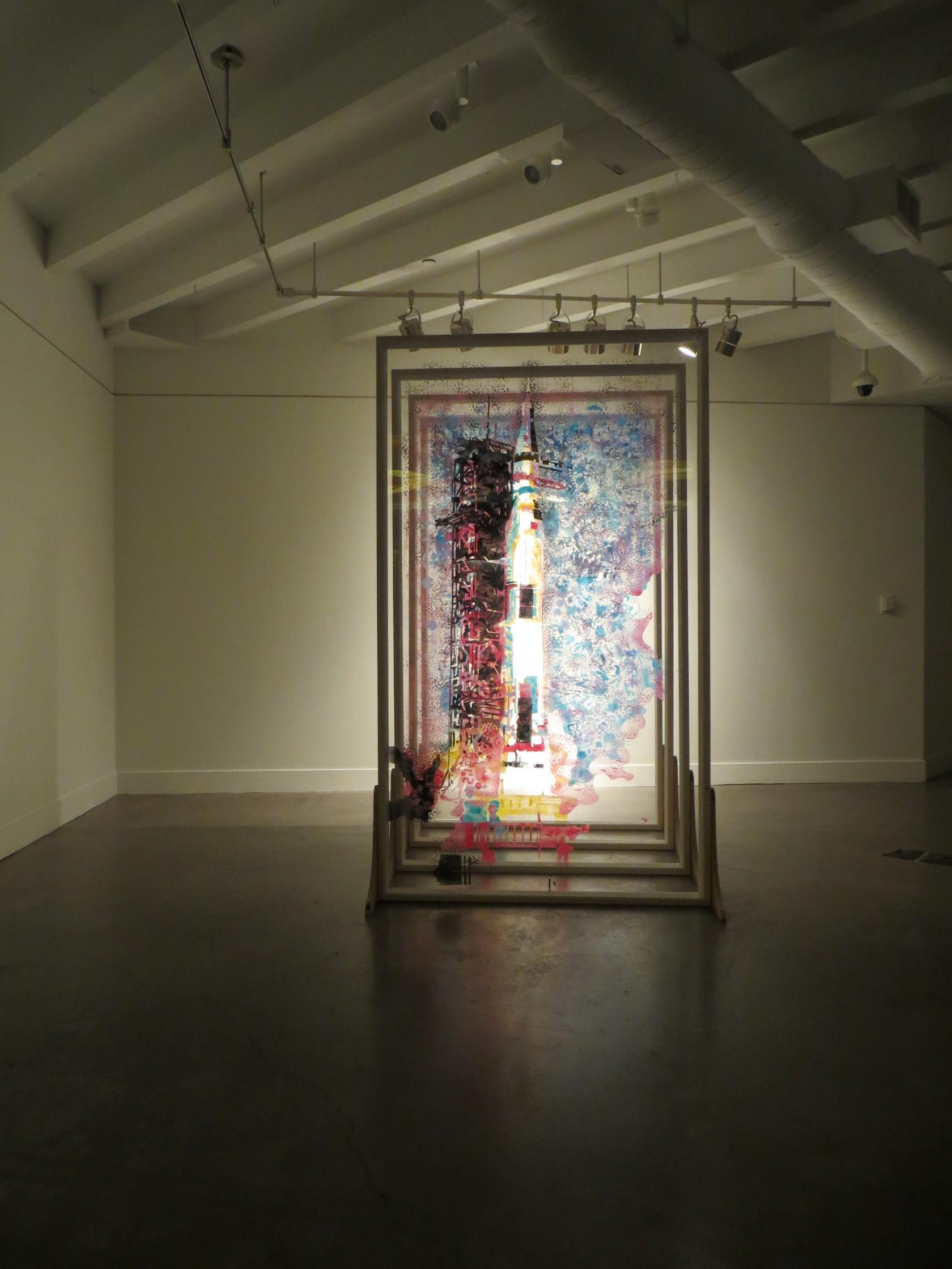 Brandvik   54321   Installation at P3 Studio, Las Vegas