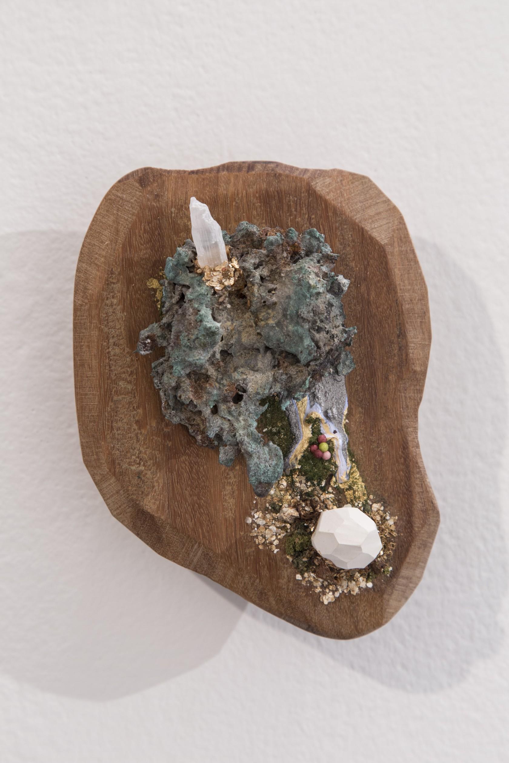 Slentz | Home Means | metal slag, ceramic, mixed media