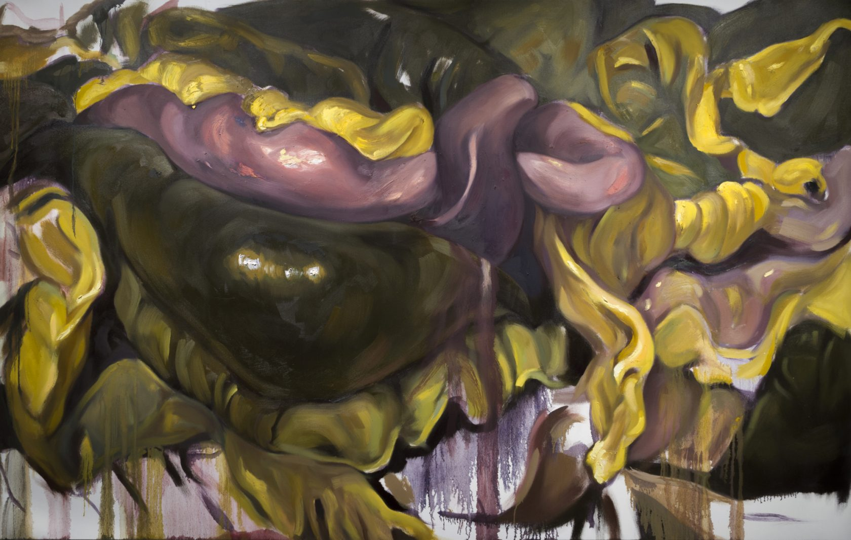 Chambers   Rupture   oil on canvas