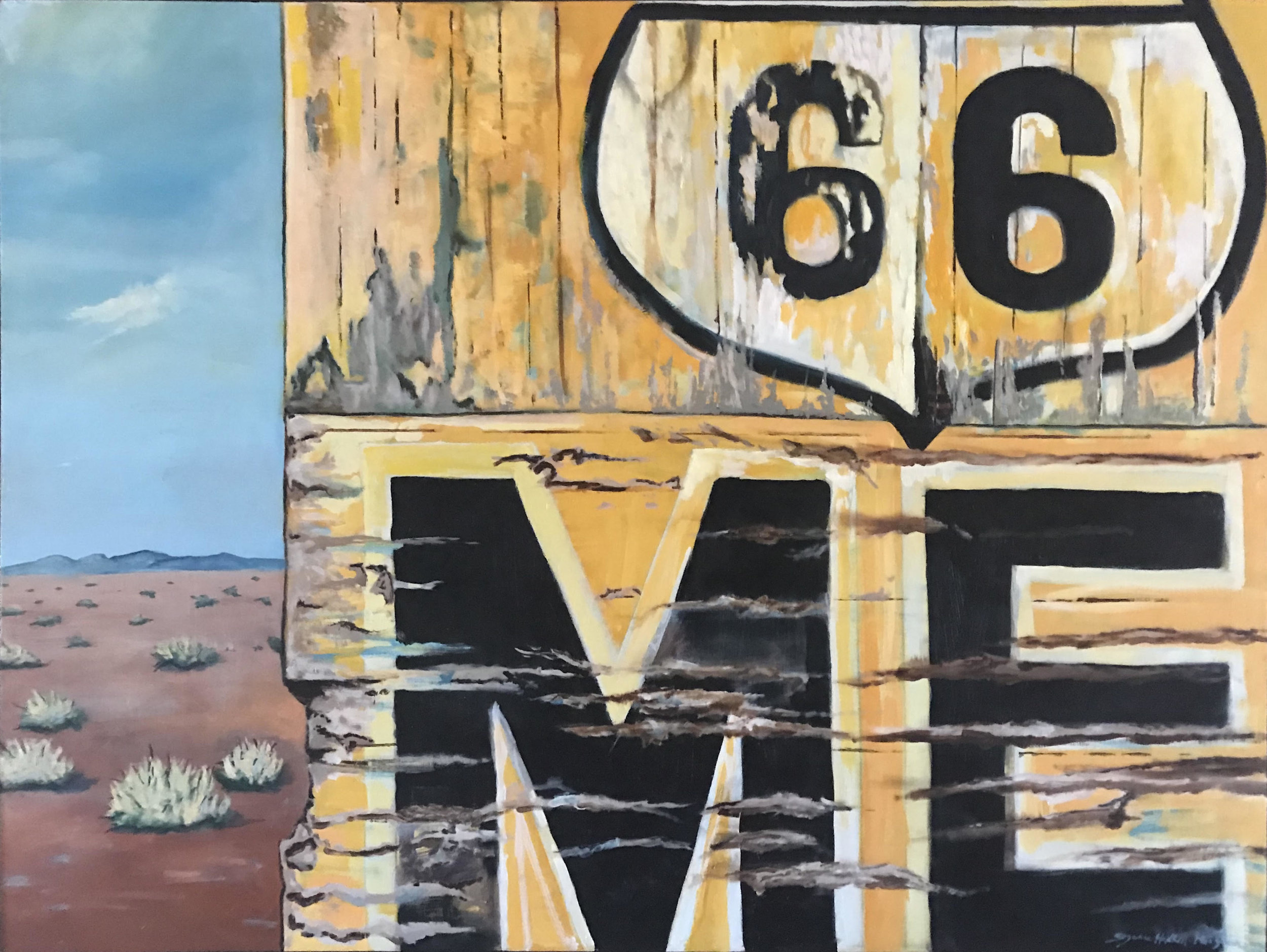 """""""66-ME"""" Suzanne Hackett-Morgan"""