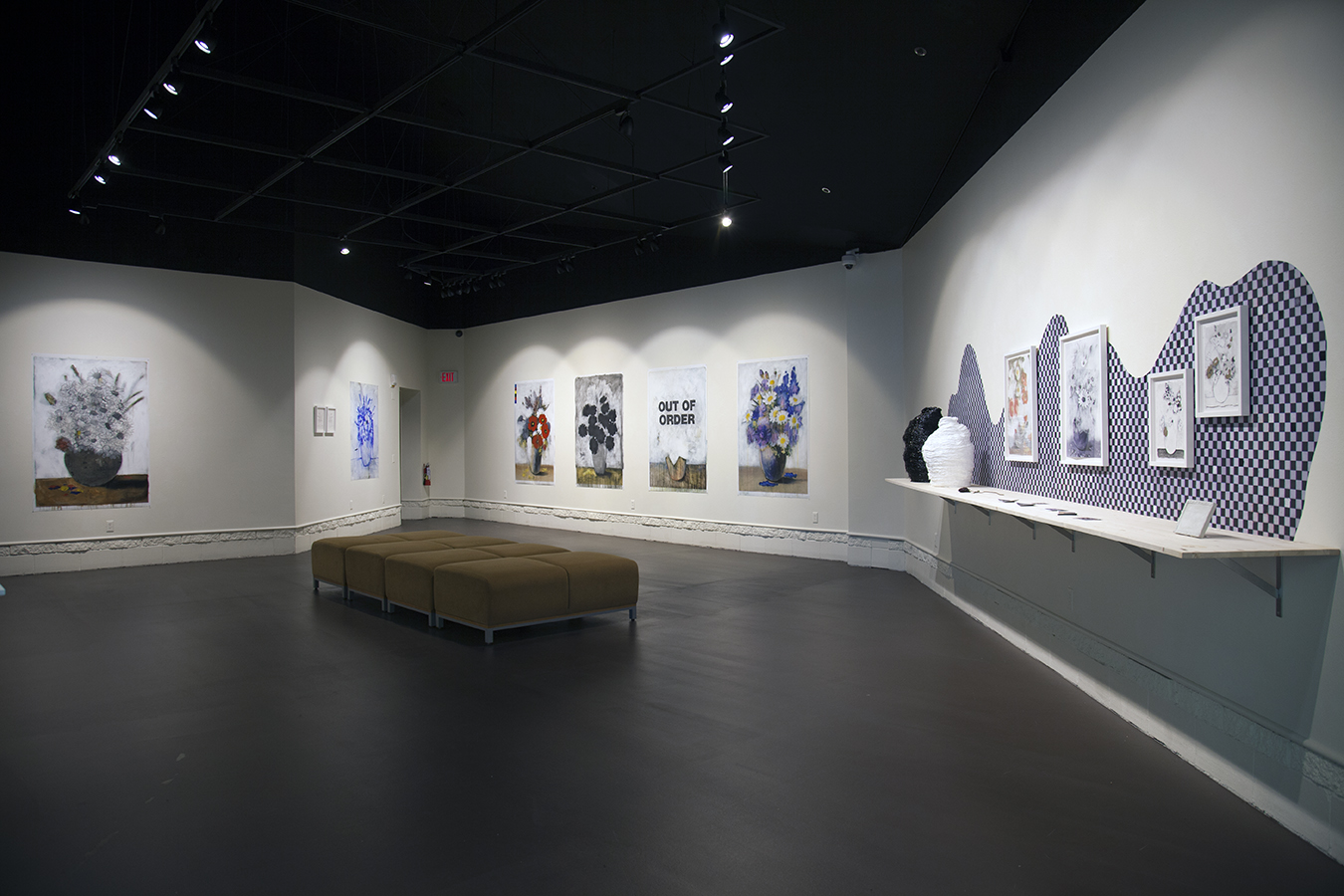 Erik Beehn,  Are We There Yet?  installation view