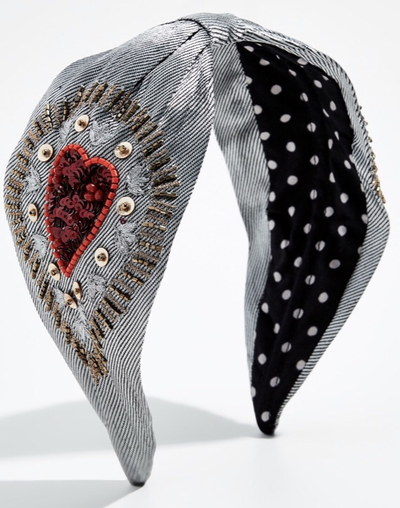 NAMJOSH Embroidered Headband