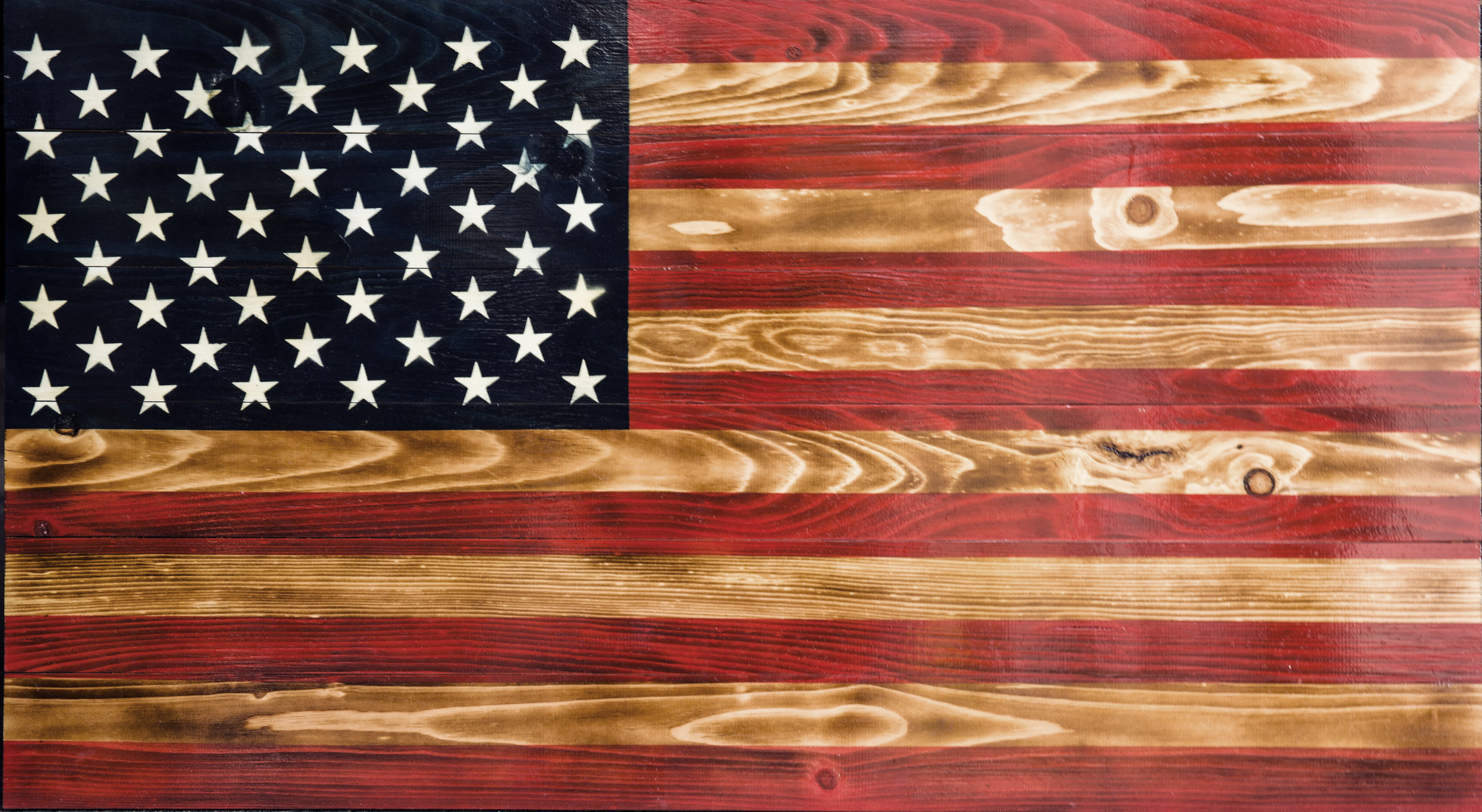 OLD GLORY - Honoring America with Wood Designs