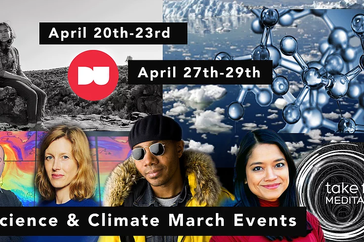 Climate & Science March Events