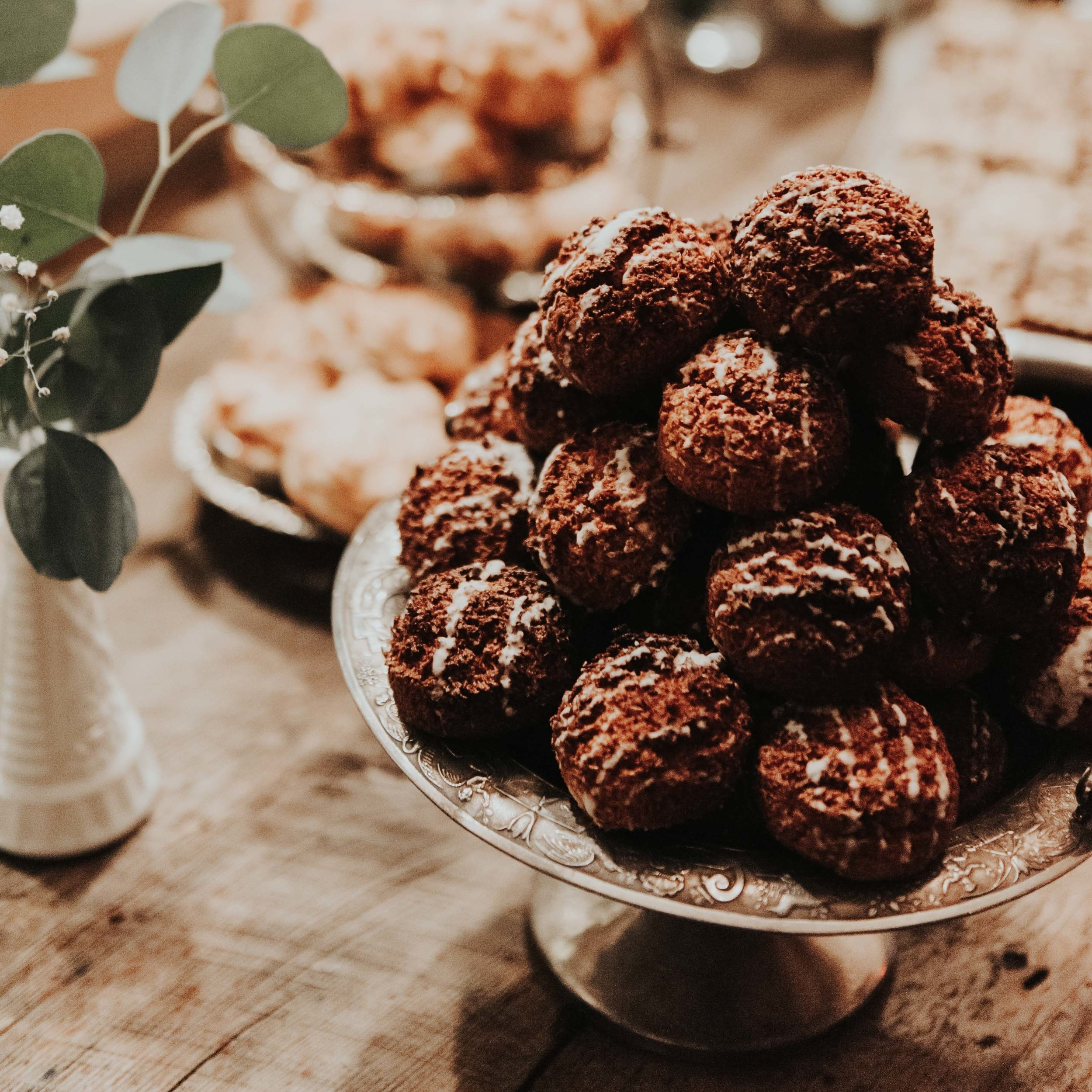 Coconut macaroons. Photo: L'Orangerie Photo