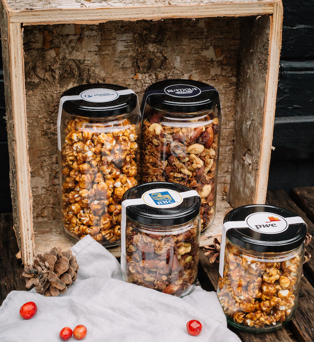 Rustique Granola and Caramel corn.jpg