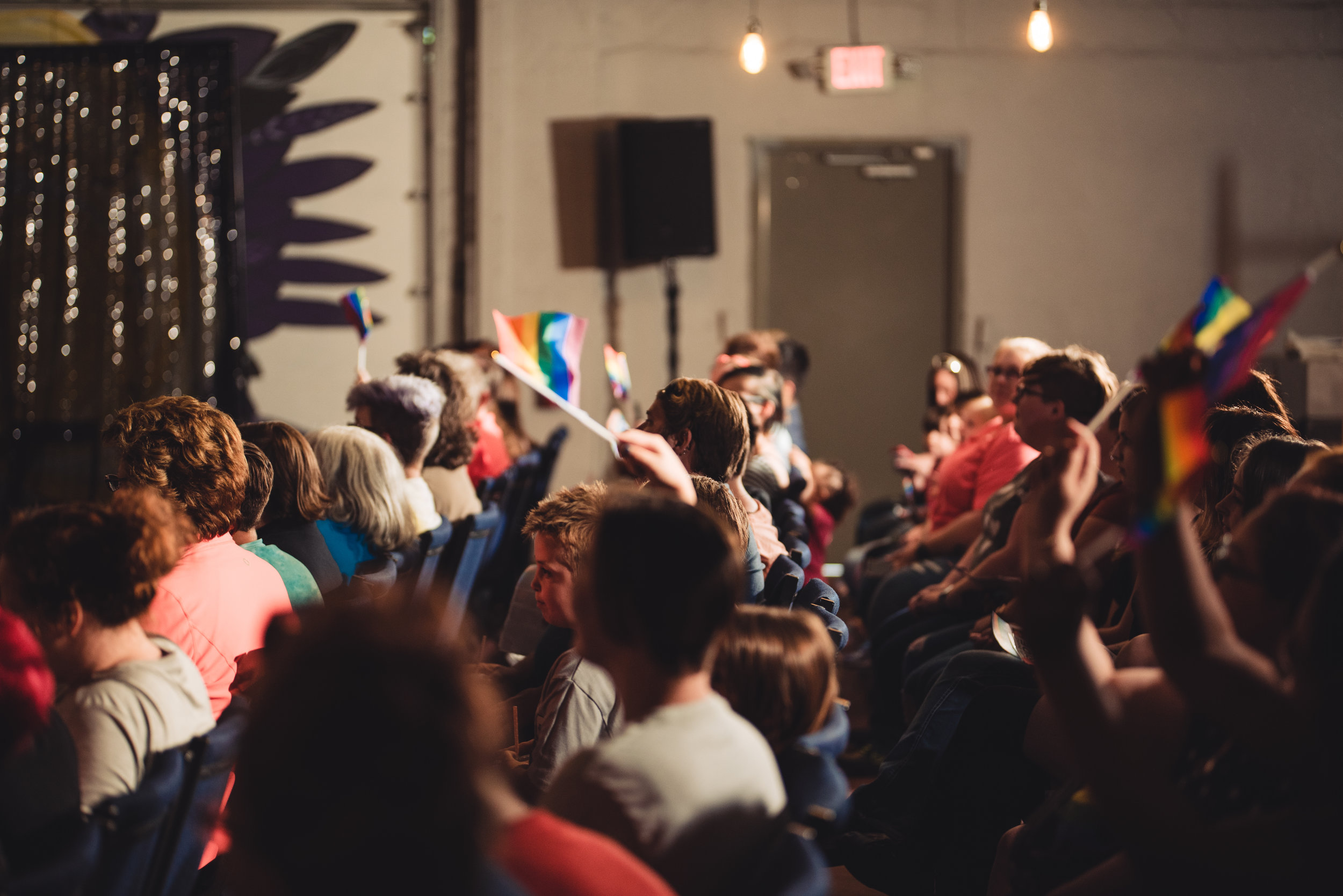 Community Events - The Center produces a wide variety of events every month. From our engaging community discussions to our captivating All Ages Drag Show, there is something for everyone.