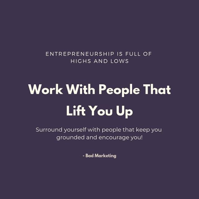 One of the MASSIVE PERKS of working for yourself is that you get a say in WHO you work with! Of course, there's no way to avoid difficult people all of the time but you are in the driver's seat. ⁣ ⁣ You don't owe anyone a working relationship.⁣ ⁣ You own yourself, your business and your clients the best possible version of yourself (which requires good people standing with you!)⁣ ⁣ #bossbabe #badmarketing #mindfulness #coffeeshop #lovewhatyoudo #highvibe #caffiene #webdesigner #nerd #entreprenuer #smallbusinessowner #lattelife #femprenuer #womenwhowork #womenempoweringwomen ⁣