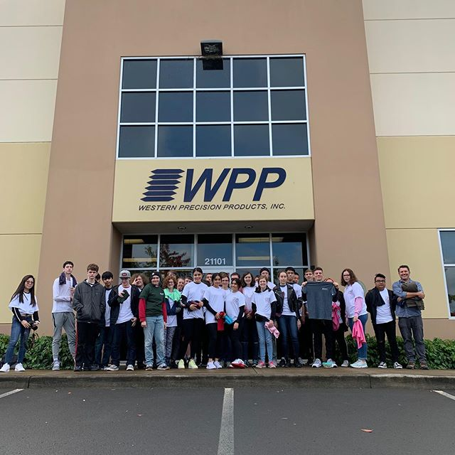 Successful Manufacturing Day! Thank you so much for joining us, Southridge High School!  #mfgday #mfgday2019 #cnc #machinist #community #manufacturing #cnc
