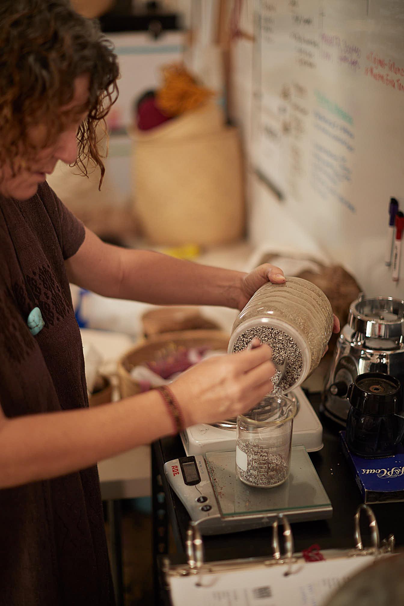 Madda Studio Natural dye process Mexico