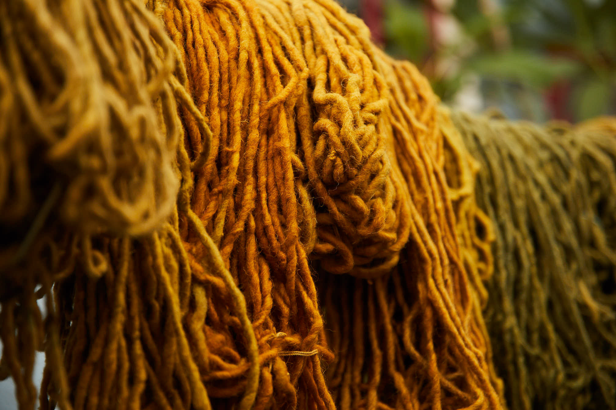 Madda Studio Hand-Dyed Wool in Mexico