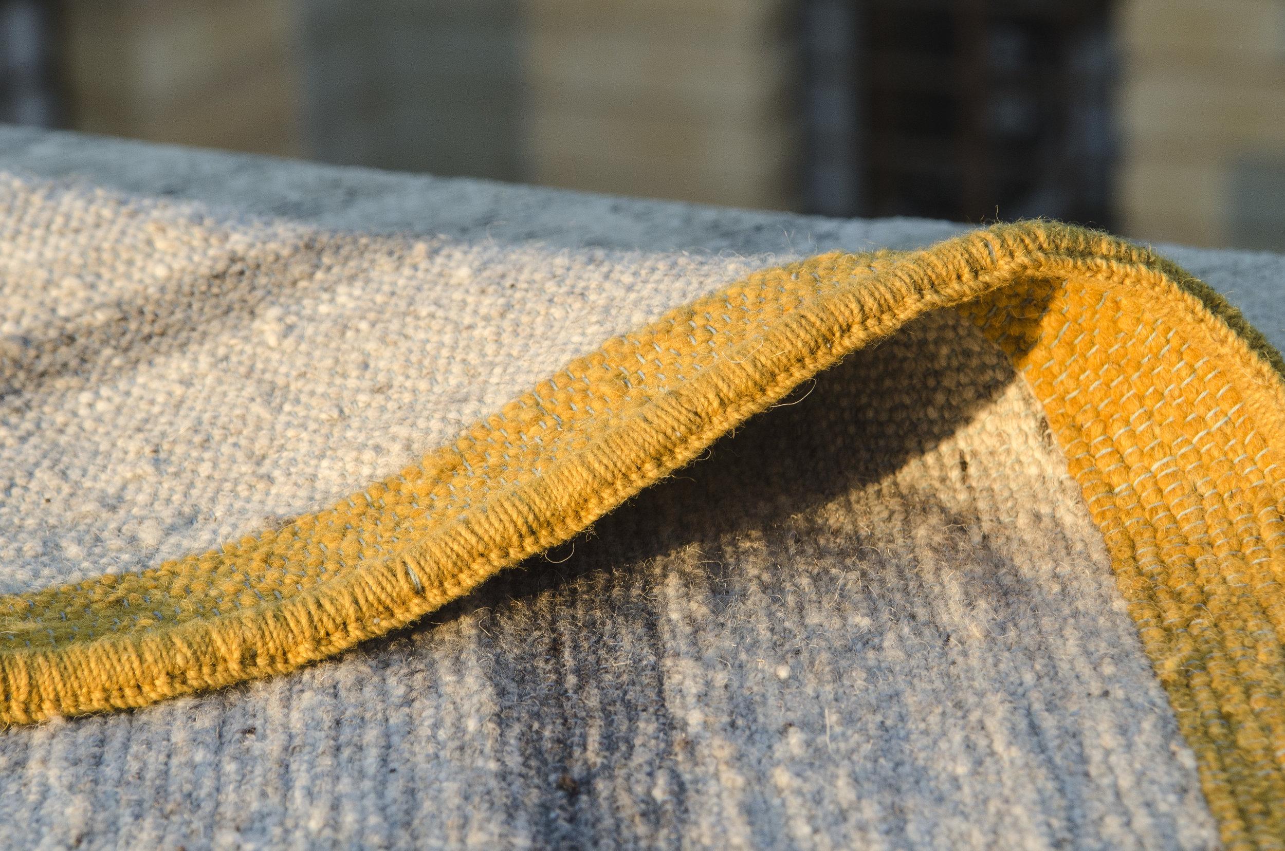Madda Studio Woven Wool Rug Marigold