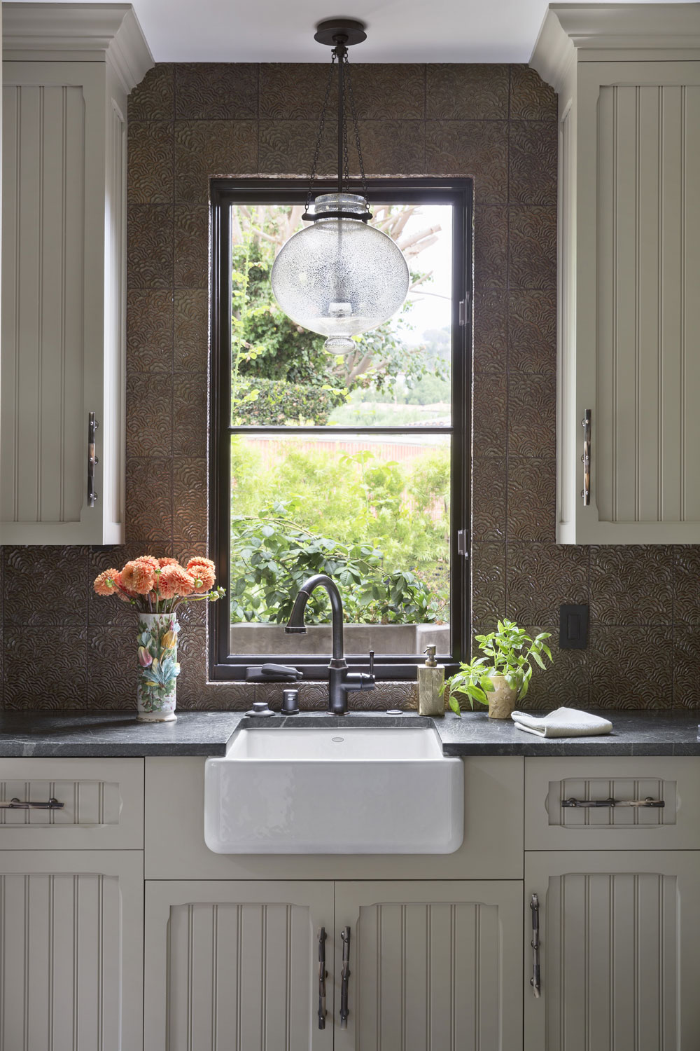 butlers-pantry-sink-traditional-cabinets-hammered-copper-premier.jpg