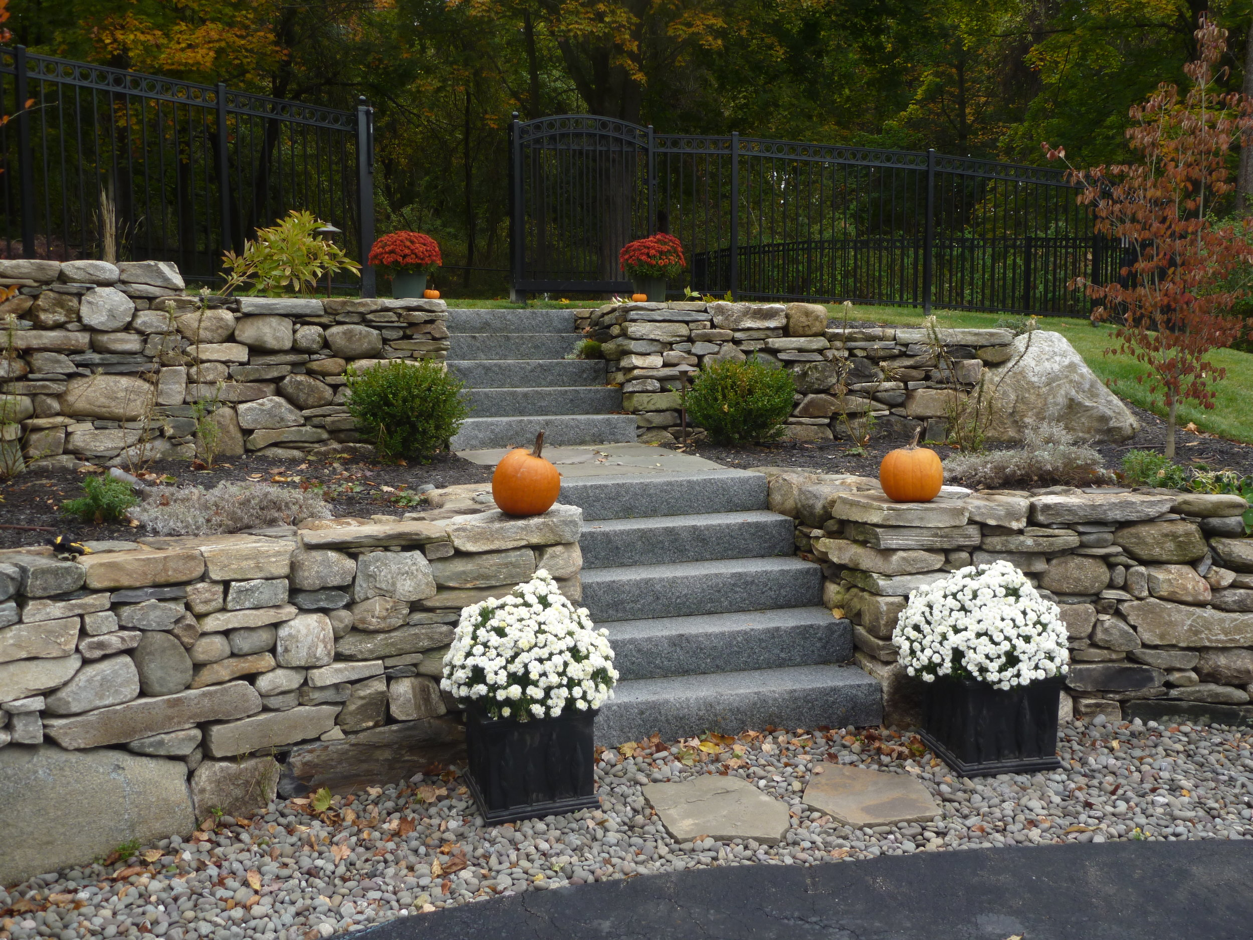 NE Field Stone Wall with Woodbury Granite Steps.JPG