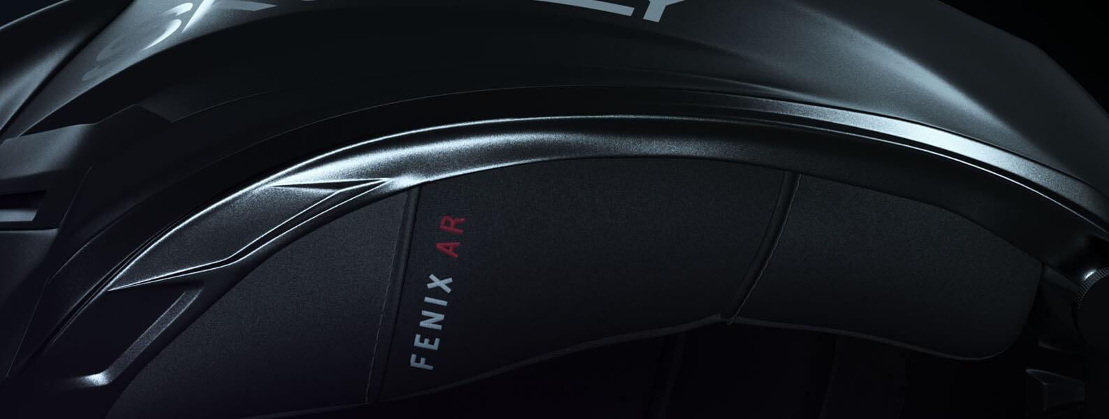 Skully  Fenix AR Helmet Superb Confort