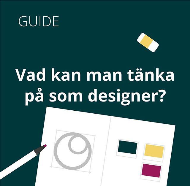 När det kommer till normkreativitet, vad kan man tänka på som designer? Jag har gjort en lista på normcreative.com, tycker du att jag saknar något på listan säg gärna till✨🎨✏️