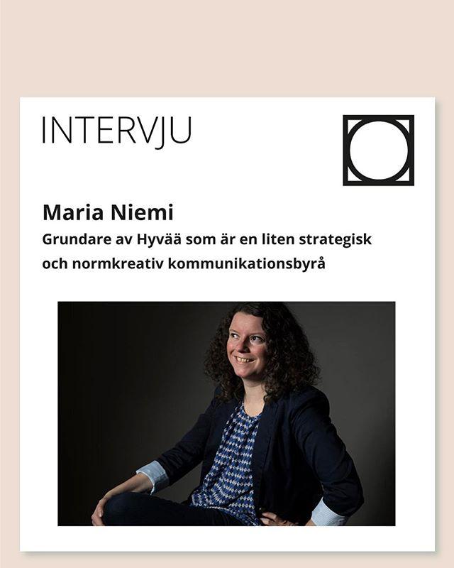 Fick chansen att ställa några frågor till kunniga Maria Niemi om normkreativitet. För henne innebär det att syna normerna i sömmarna och sen sy om dem. In och läs på normcreative.com om du vill lära dig mer om hur man jobbar med normkreativitet👏✏️🌟💡