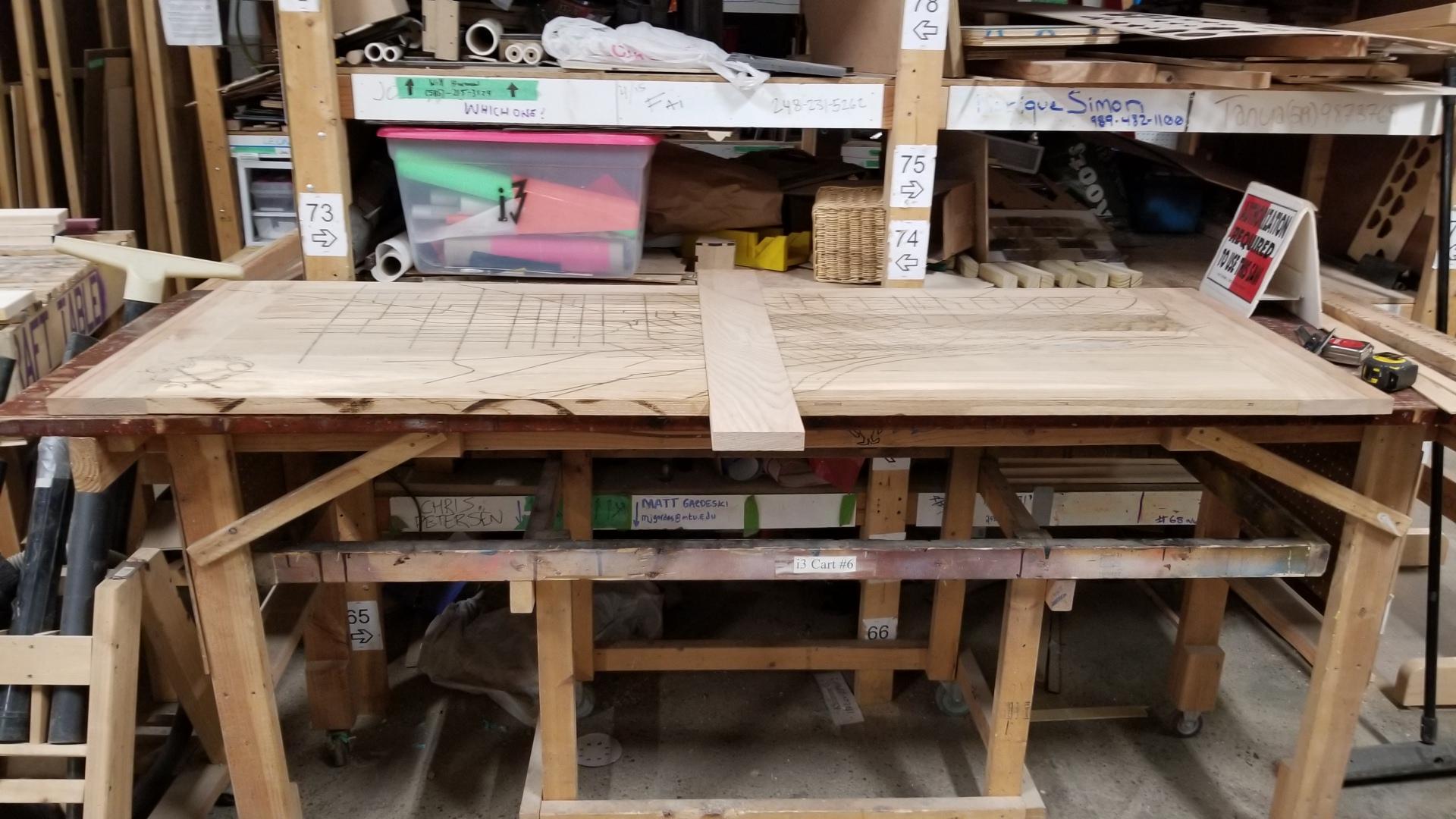 Gallows Desk Full shot