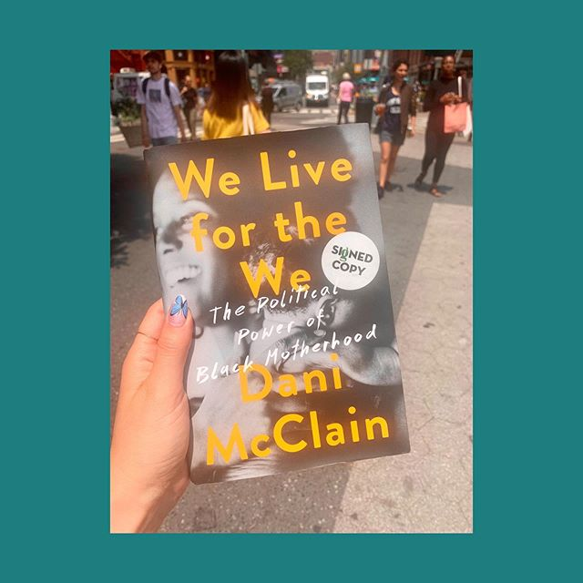 "#RootandSparkReads: because we know ""birthwork"" really means ""parentingwork,"" ""communitywork,"" ""societywork."" 📖 📖 📖 ""We Live for the We: the Political Power of Black Motherhood"" by Dani McClain is a clear, touching and important exploration of what it means to raise a child and create a family in a society built on racism and white supremacy. As doulas and members of the Brooklyn community, we know it is our responsibility to consider the lived experiences of those we support. As residents of this planet, we think it's everyone's job to do the same."