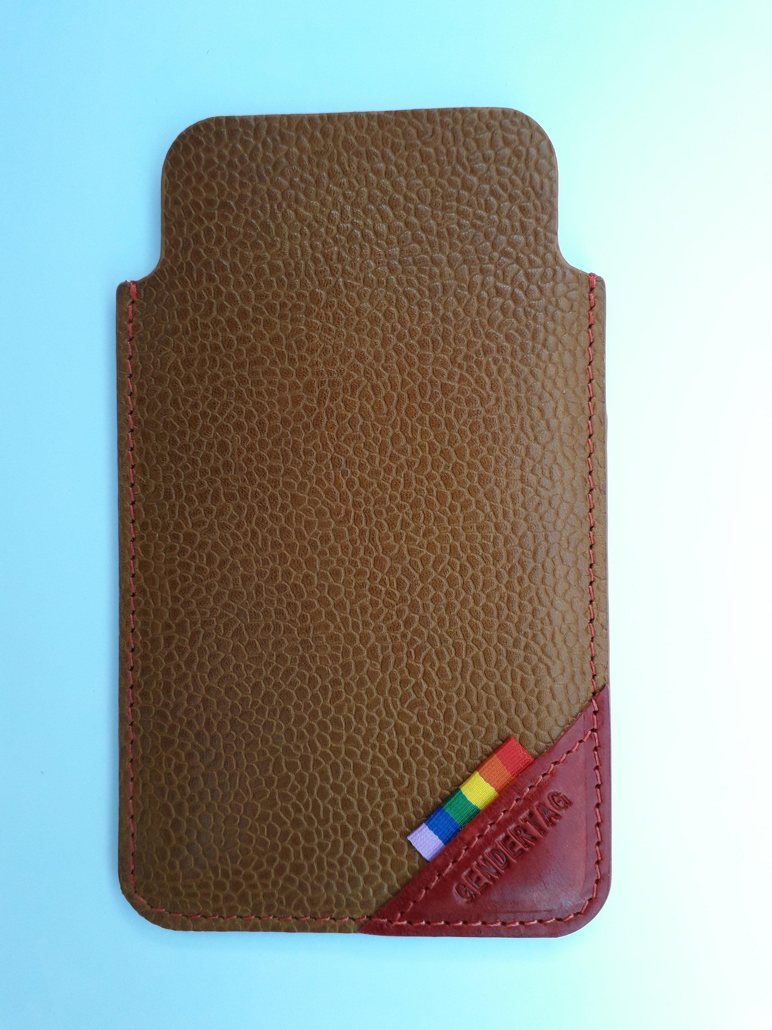 GENDERTAG Pride Leather Phone Cases