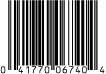 0674 4 oz SCR Hangbag
