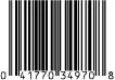 3497 7.75 oz AR Heart Tin