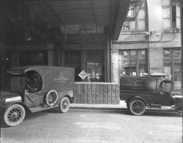 FIRST DELIVERY TRUCKS