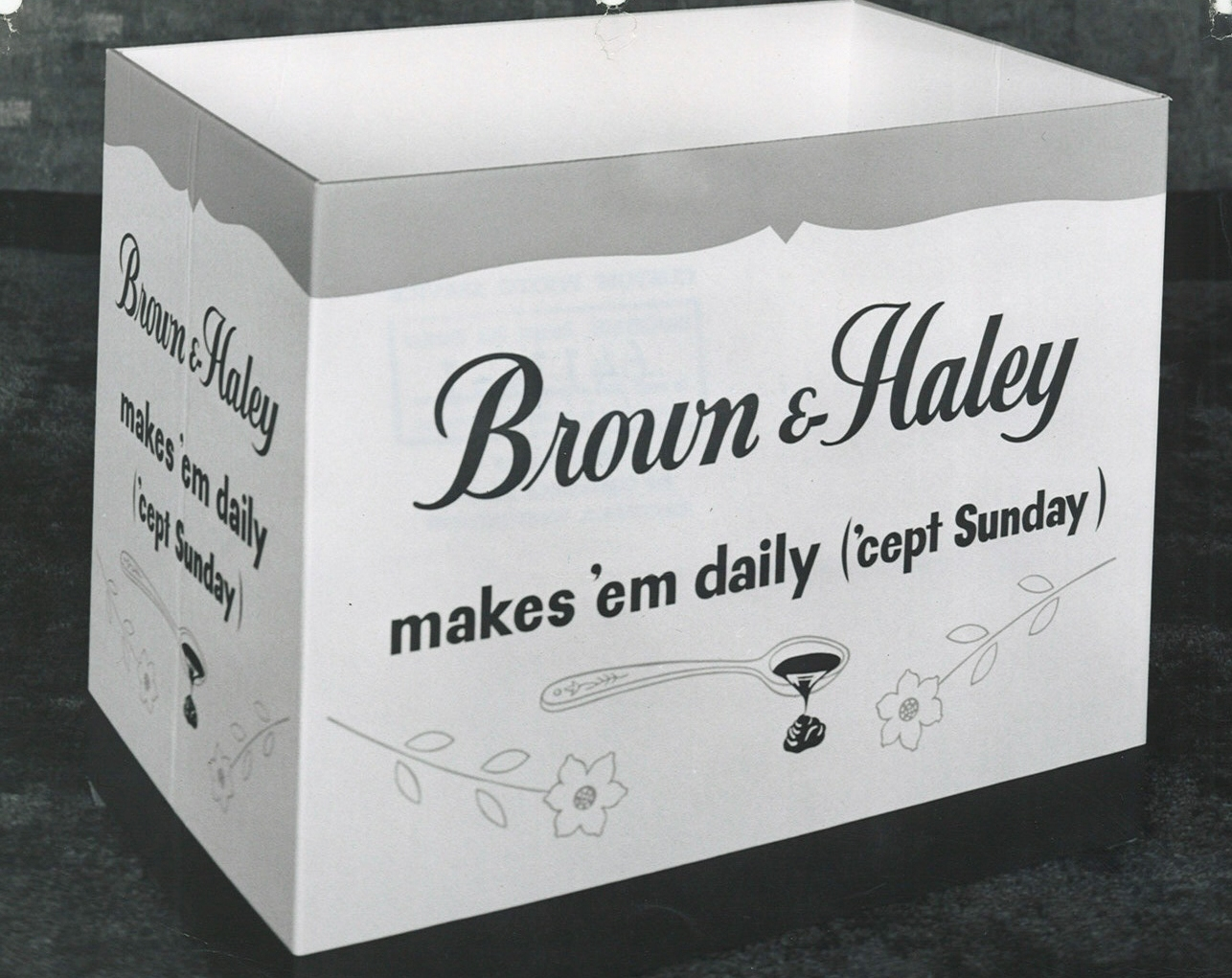 HISTORICAL SLOGAN BOX