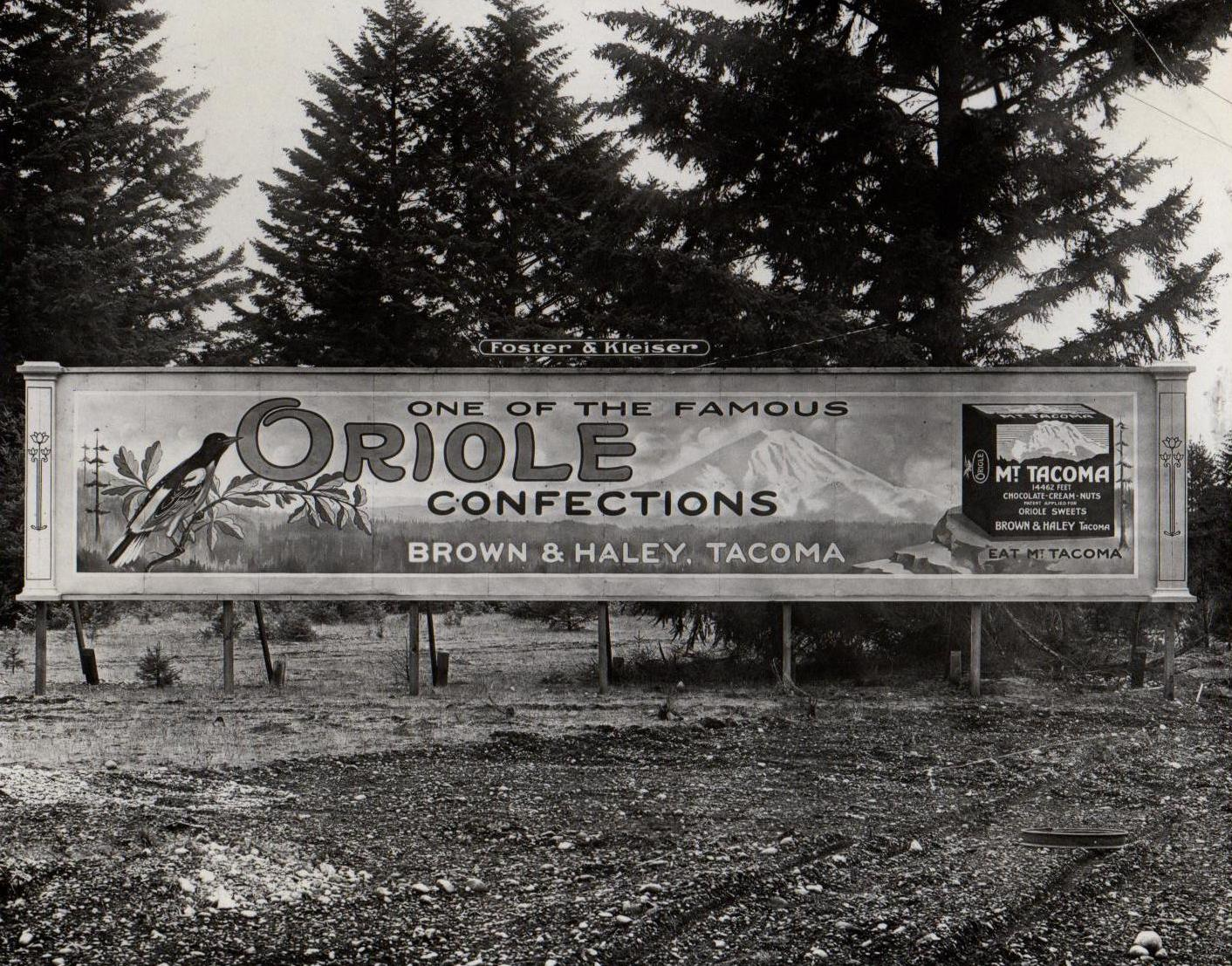ORIOLE CONFECTIONS SIGN