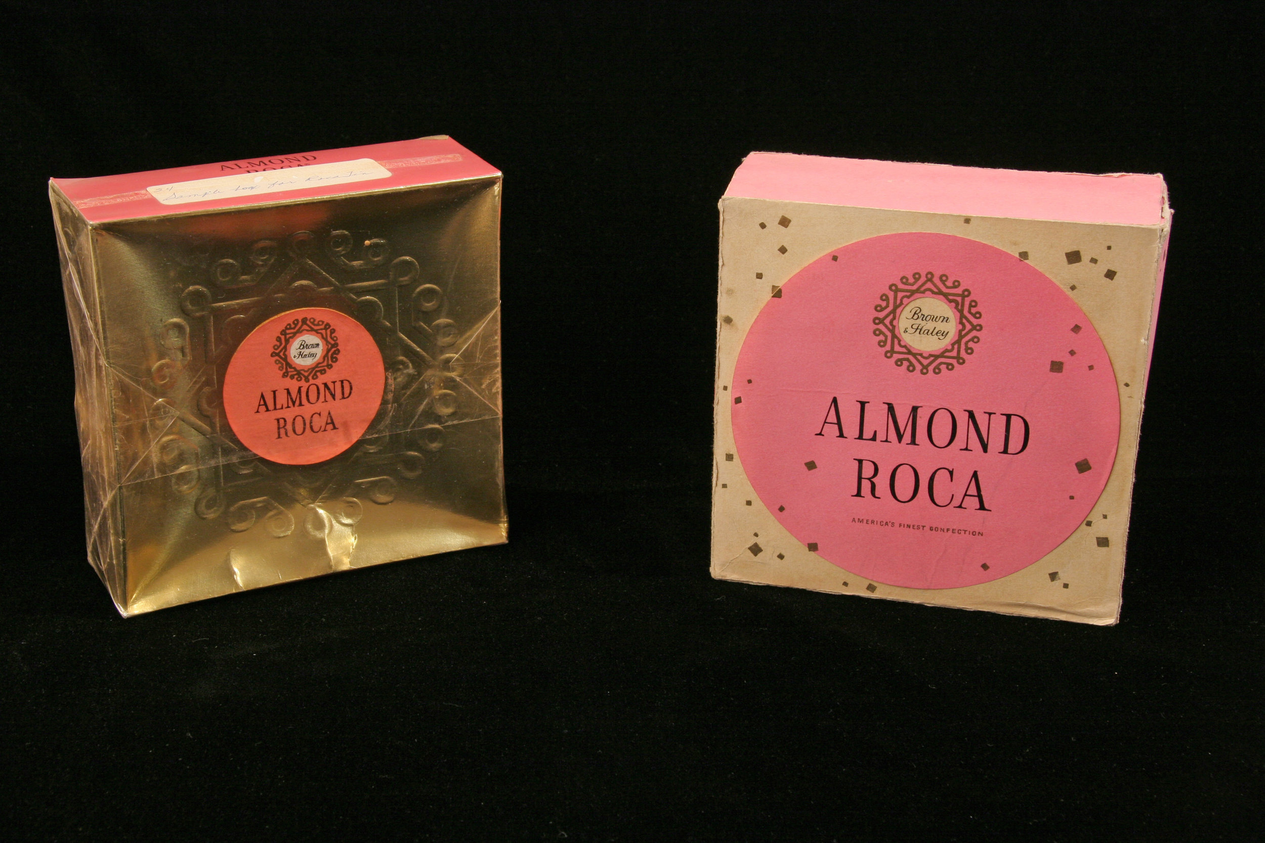 VINTAGE ALMOND ROCA PACKAGES