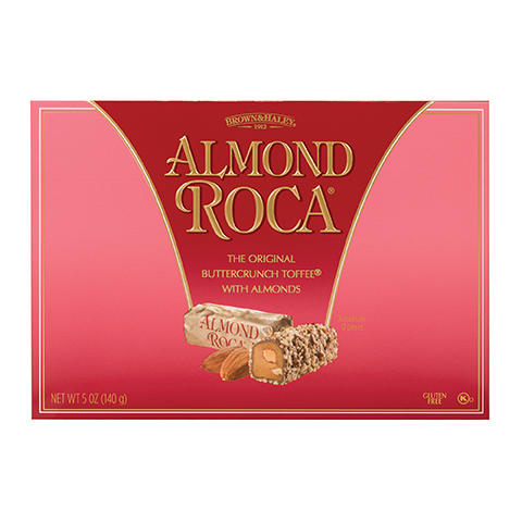 0134 5 OZ ALMOND ROCA® - Straight Front View