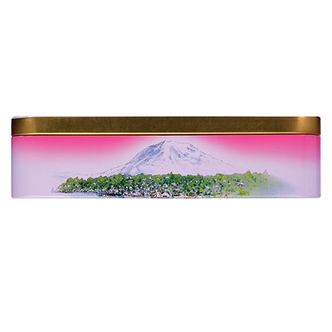 0355 14 OZ ALMOND ROCA® KEEPSAKE TIN - Top-side View