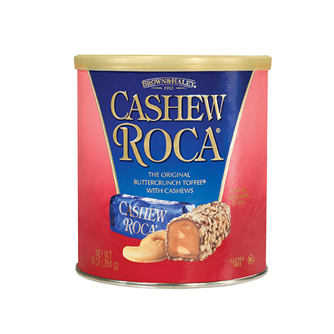 0569 10 oz Cashew ROCA® Canister - Straight-front View