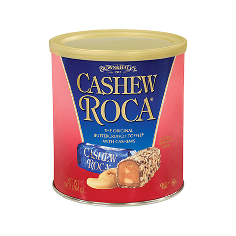 0569 10 oz Cashew ROCA® Canister - Front-View