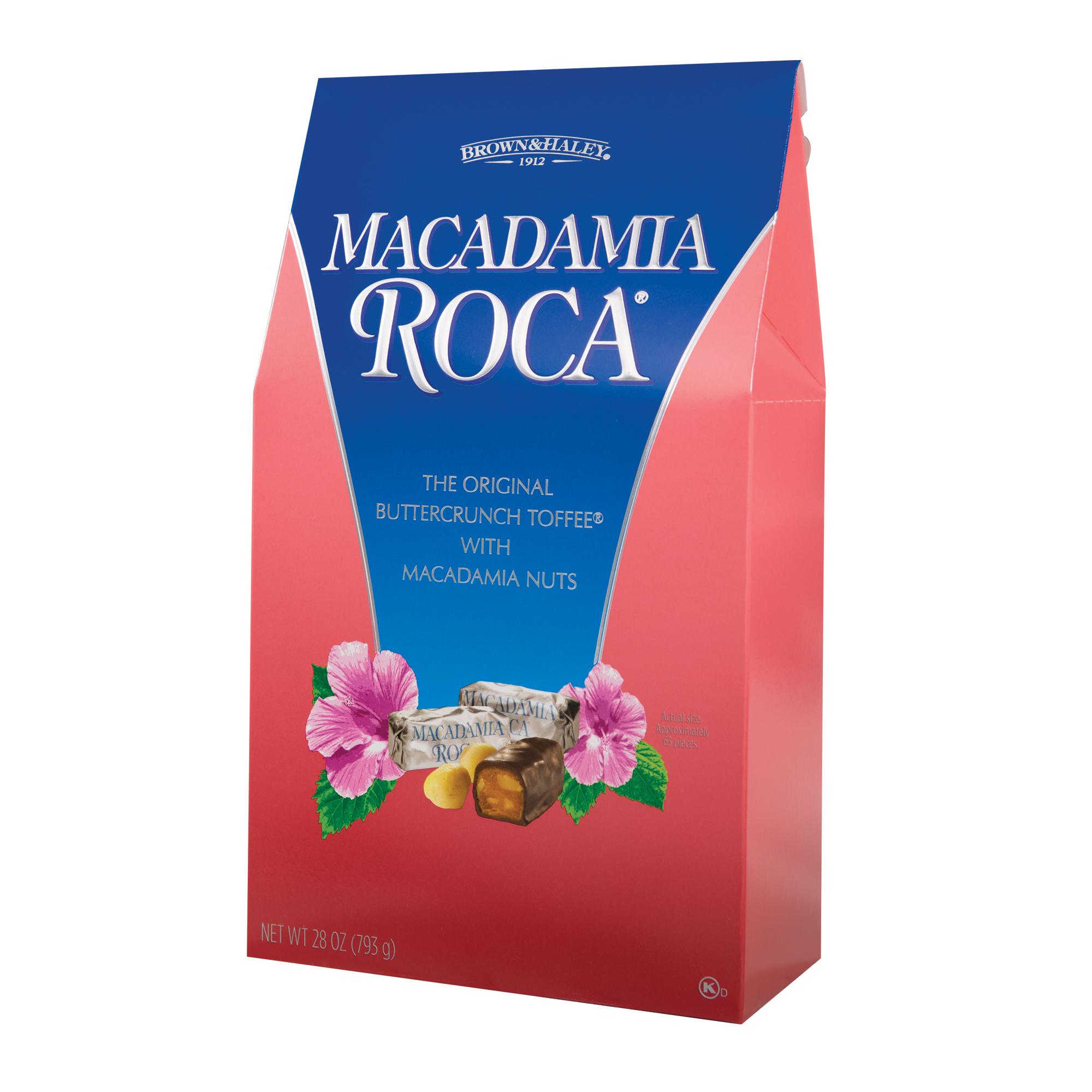 0356 28 oz MACADAMIA ROCA® Stand-up Box - Left-facing View