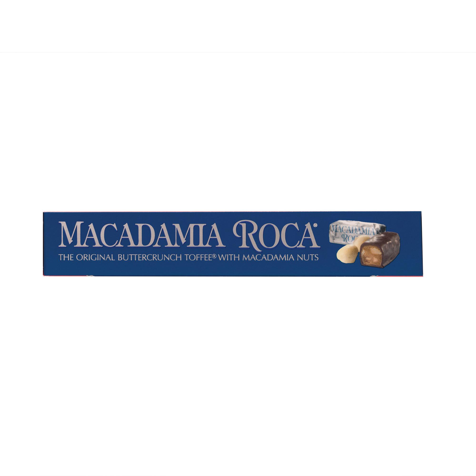 0602 4.9 oz MACADAMIA ROCA® Gift Box - Top View