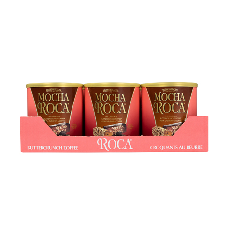 MOCHA ROCA® 10 oz Canister Case - Straight-front View