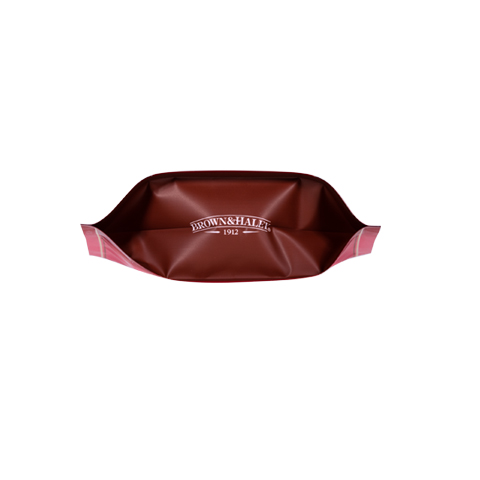 0877 7 oz MOCHA ROCA® Stand-up Pouch - Bottom View