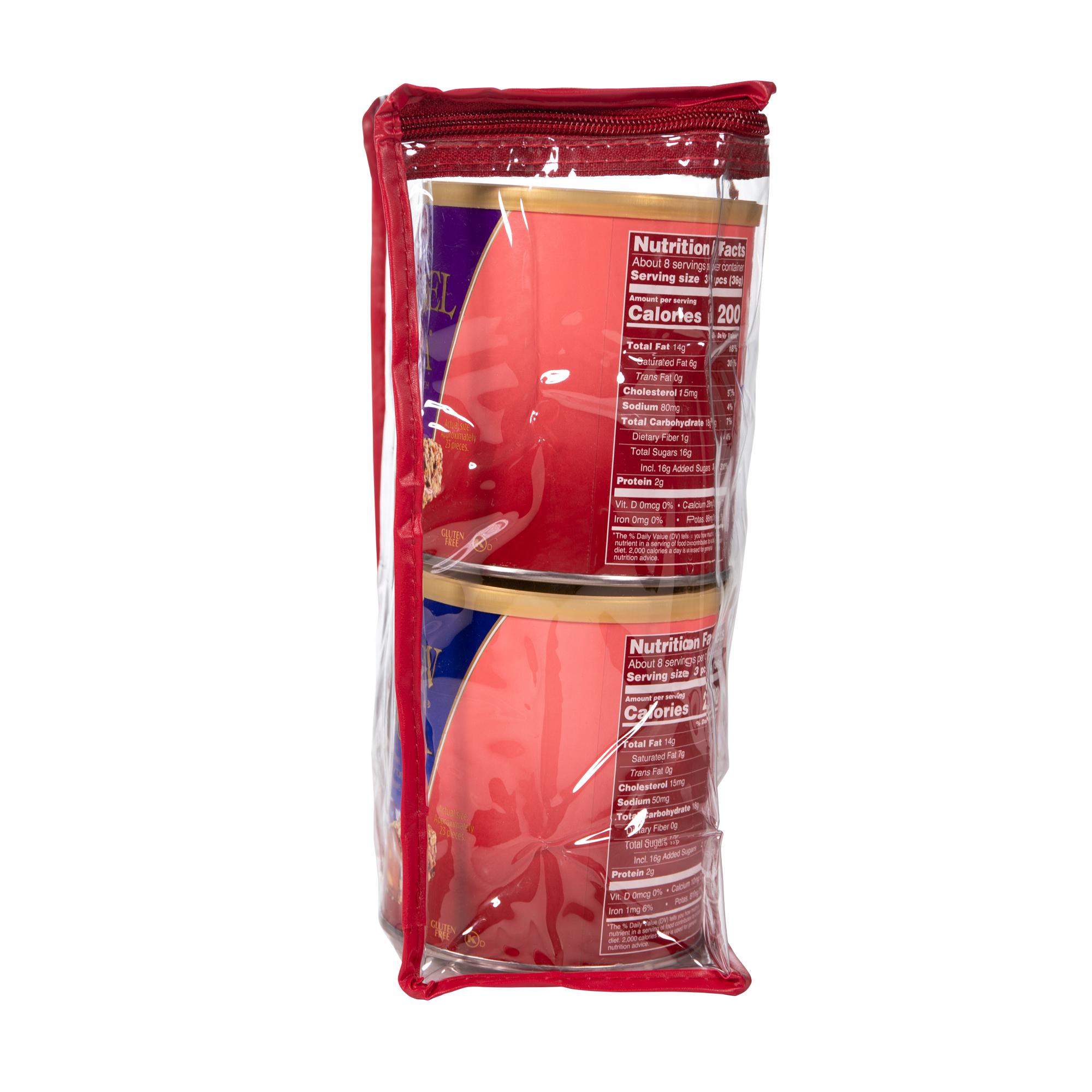 0675 40 oz Four Flavor Tote: ALMOND ROCA®,SEA SALT CARAMEL ROCA®, DARK ROCA®,CASHEW ROCA® - Right-side View