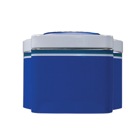 5862 11.3 oz Football Tin: Almond ROCA®, Dark ROCA® - Bottom-side View