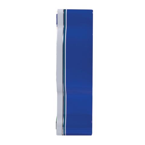 5862 11.3 oz Football Tin: Almond ROCA®, Dark ROCA® - Right-side View